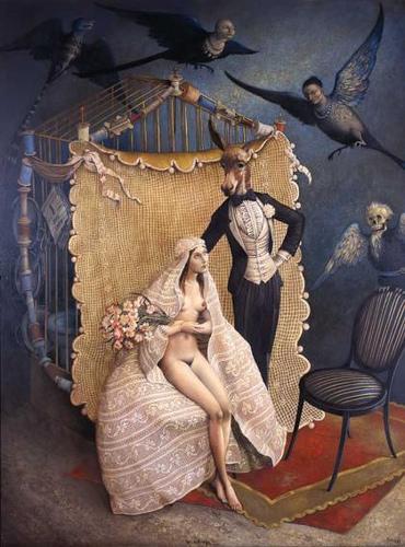 Cuadro Le Mariage de Claude Verlinde