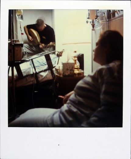 Polaroid de Jamie Livingston en 1997