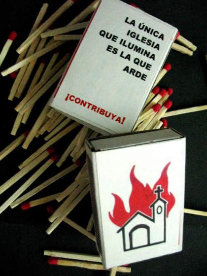 Foto de la campaña Cajita de fósforos realizada por Mujeres públicas
