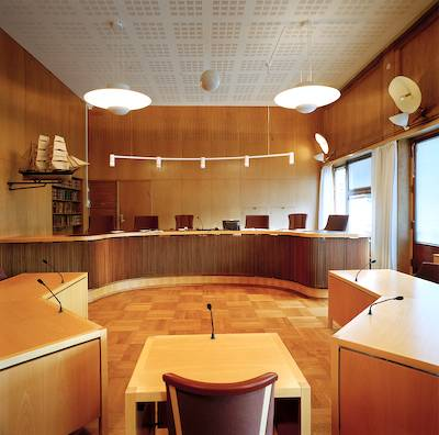 Foto de la serie Arquitectura de la autoridad de Richard Ross