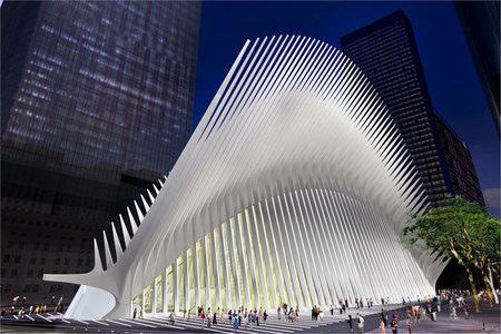Imagen de la estación PATH del World Trade Center de Nueva York por Santiago Calatrava