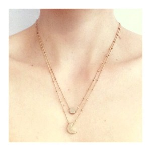 Little necklace • moon
