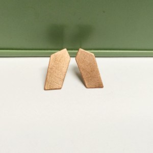 Copper geometric Studs²