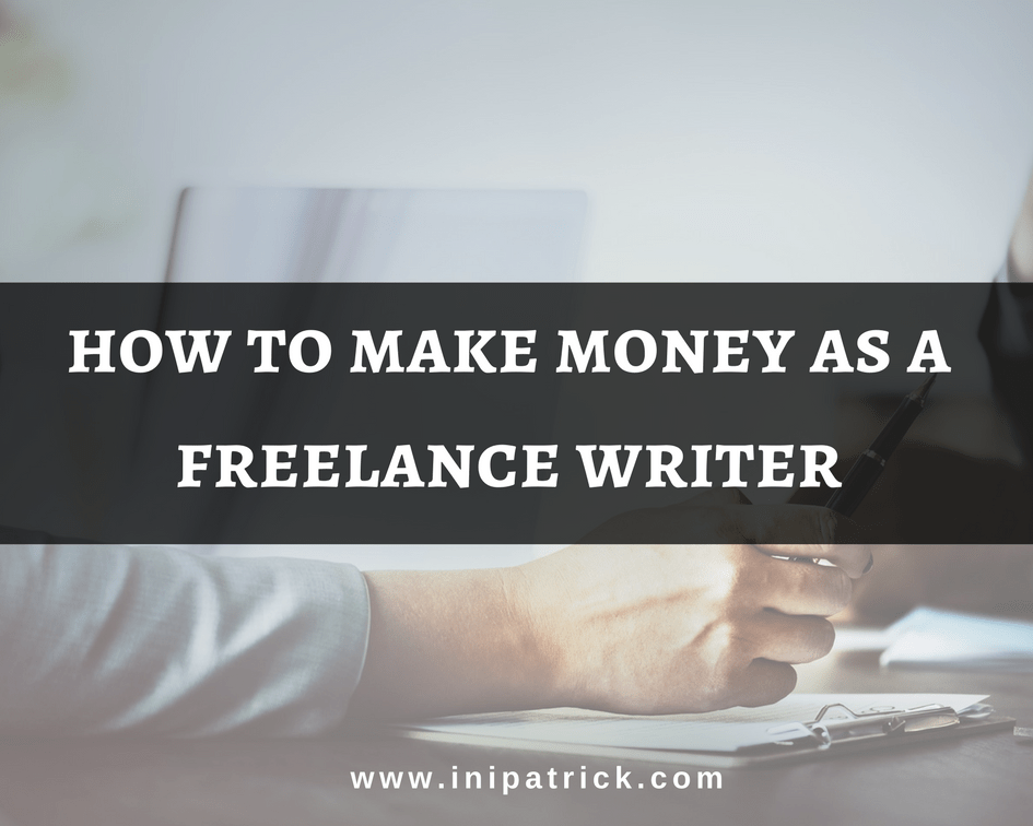 How to Make Money Writing Online as a Freelance