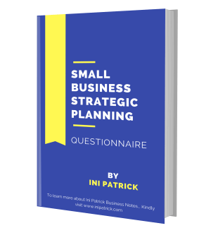 business Strategic planning Questionnaire