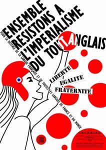 Deux destructeurs de la langue française au second tour – communiqué du C.O.U.R.R.I.E.L.