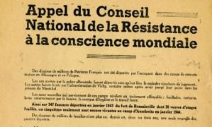 27 mai 2013 : 70ème anniversaire du Conseil national de la Résistance