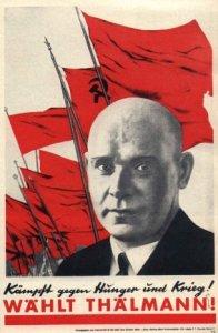 La réaction allemande veut détruire le monument consacré à l'héroïque Ernst Thälmann