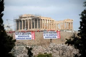 dossier spécial Grèce : Contre l'UE du capital et l'euro-austérité, résistance