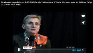 Vidéo : Industriels et banquiers sous l'occupation Annie Lacroix Riz