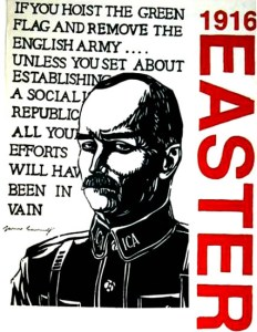 "24 avril 1916, James Connolly et  la République irlandaise  – ""Au patriotisme capitaliste j'oppose le patriotisme de la classe ouvrière"""