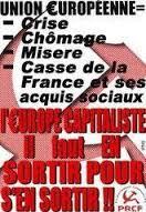 Illusion de l'Europe sociale, réforme territoriale, ils disent comme le PRCF…