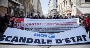 Soutien aux marins de la SNCM [déclaration du PRCF] [Rassemblement Marseille 25 novembre]