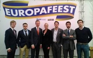 Marion Maréchal Le Pen à la Europafeest du VB