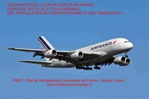 AVEC LES TRAVAILLEURS d'AIR France, RENVOYONS DANS LES CORDES LE GOUVERNEMENT THATCHERIEN ET SES EXECUTANTS BLANQUER, JANAILLAC ET PEPY !