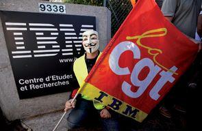 """IBM traite ses salariés comme des pions, les """"vendant"""" à Manpower, mais les salariés résistent !"""