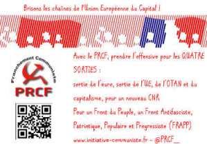 De la crise du Front de gauche au Front Antifasciste, Patriotique et Populaire (FRAPP !)