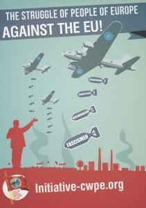 affiche de l'initiative cwpe contre l'UE du capital