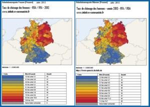 Le triste bilan de la réunification allemande pour l'Est : 25 ans après la chute du Mur, la dure réalité en chiffres : chômage, revenus…