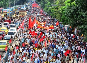 150 millions d'Indiens mobilisés contre la #loitravail