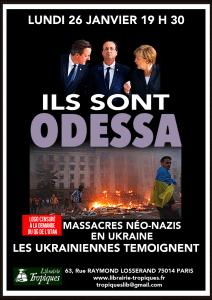 Ukraine : Massacres néo-nazis, les ukrainiennes témoignent [26 janvier 2015]