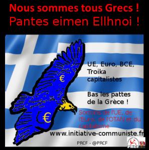 Tract – Nous sommes tous Grecs ! Solidarité internationaliste de Classe !