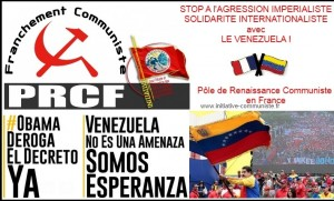 PRCF solidarité venezuela