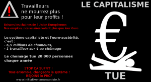 Le capitalisme tue : morts en Interim, halte à l'hécatombe