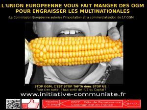 l'Union Européenne : la machine à vous faire manger des OGM et à servir Monsanto & Cie