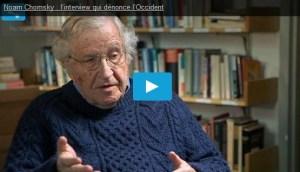 #vidéo : quand Noam Chomsky dénonce l'exterminisme capitaliste