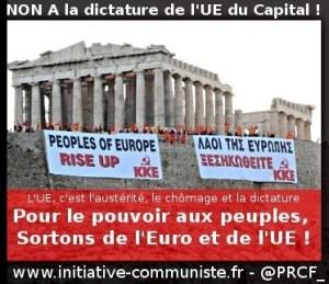 Le Parti Communiste Grec appelle le peuple à ne pas se rendre et à mener le combat de classe pour s'en sortir #KKE