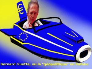 "Bernard Guetta, ou la ""géopolitique"" en Rafales"