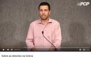#Grèce : déclaration du Parti Communiste Portugais au sujet des élections en Grèce  #PCP