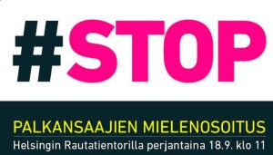 Énormes grèves et manifestation en Finlande contre l'euro austérité ! #europe #finlande #austérité