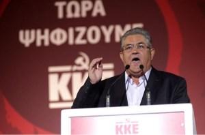 Discours de Dimitri Koutsoubas Secrétaire National du KKE (parti communiste grec)