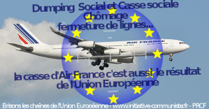 Paquet aviation : l'Union Européenne déréglemente et libéralise l'aviation civile pour plus de dumping social!