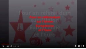 Pour un referendum sur l'euro et l'UE : Antoine Manessis interviewé par Sputnik !