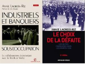 Collaboration : les capitalistes français et l'Allemagne nazie par Annie Lacroix-Riz #vidéo