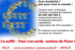 C'est pas l'austérité pour tout le monde : la Banque Centrale Européenne donne des milliards d'Euros au CAC40