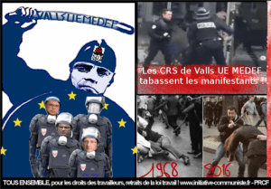 #manif1ermai Grosse mobilisation ce 1er mai et violences policières : la manifestation à Paris réprimée !