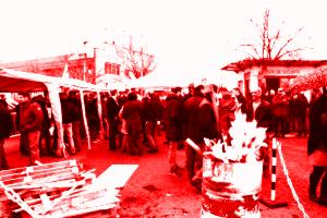 Soutien aux travailleurs de Bosch Rexroth Vénissieux : entretien sur le piquet de grève de l'usine en lutte !