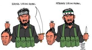 Tentative d'assassiner des députés français en Syrie : qu'ils sont beaux les rebelles «modérés» cher au PS !