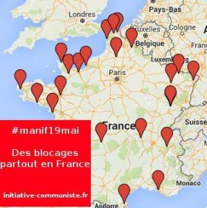 Mobilisation réussie, 20% des stations TOTAL à sec ! #onbloquetout #manif19mai