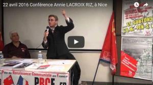 l'Union Européenne qu'est ce que c'est ? Annie Lacroix-Riz vous explique en vidéo d'où vient l'UE.