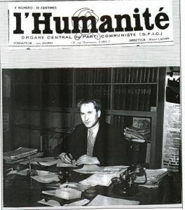 """juillet 1939: quand le journaliste de l'Humanité, Lucien Sampaix, fusillé en 1941 par les Nazis, dénonçait la collusion du """"Temps"""" et du """"Figaro"""" avec les services allemands"""