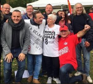 Solidarité avec les Goodyears : les vidéos du 19 octobre à Amiens !
