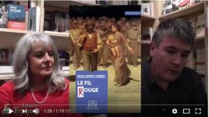 #vidéo échange autour du roman Le Fil Rouge de Gilda Landini. Un des livres indispensables de cette fin d'année !