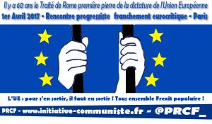 60e anniversaire du Traité de Rome : Rencontre progressiste franchement euro-critique !