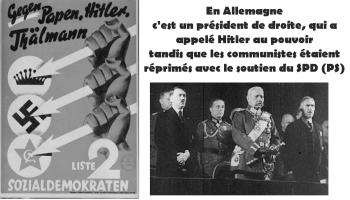 #vidéo En Allemagne, c'est la droite et le centre qui a mis Hitler au pouvoir. Comparaison des Conjonctures électorales française (2017) et allemande (1932-1933) par A Lacroix Riz