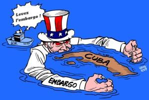 ONU : pour le respect des droits du peuple cubain et pour la levée de l'embargo états-unien